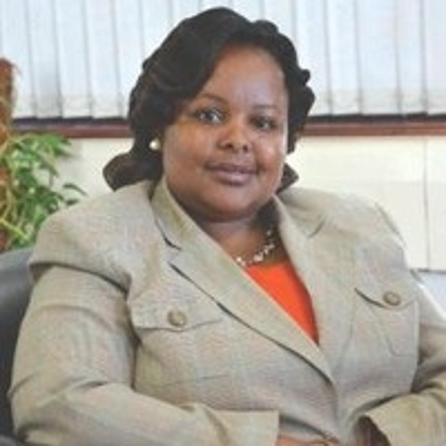 Mercy Wanjau (Ag. Director General of Communications Authority of Kenya)
